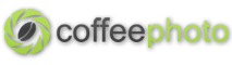 coffee photography logo